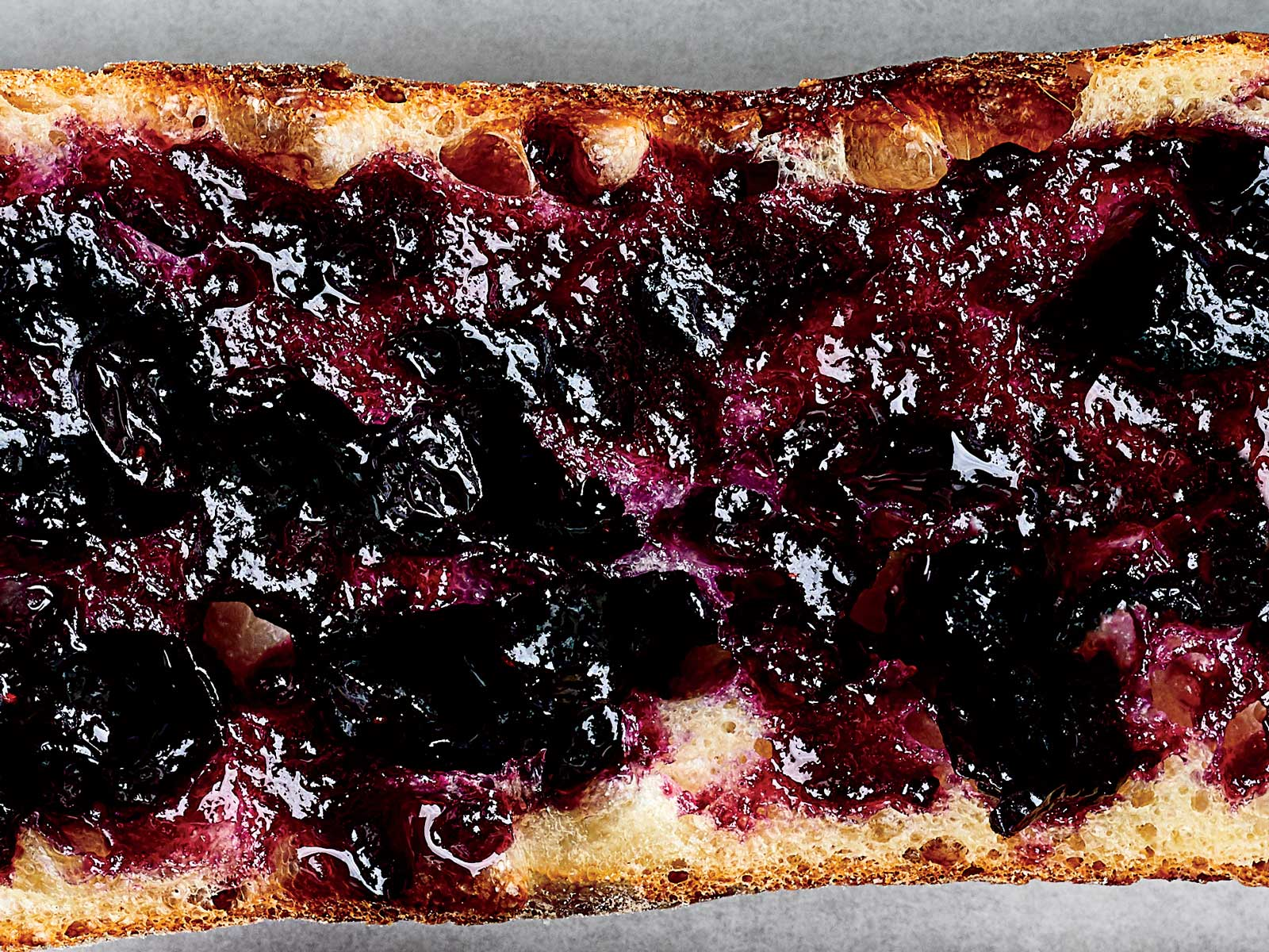 Blueberry-Beaujolais Jam