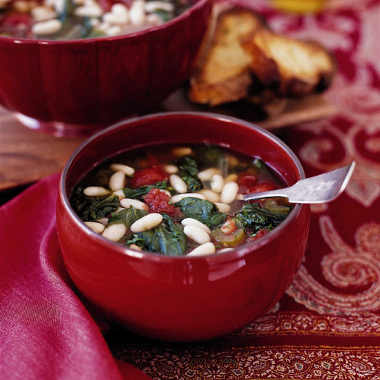 Cannellini Bean and Escarole Soup