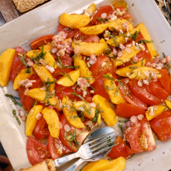 Tangy Tomato and Mango Salad