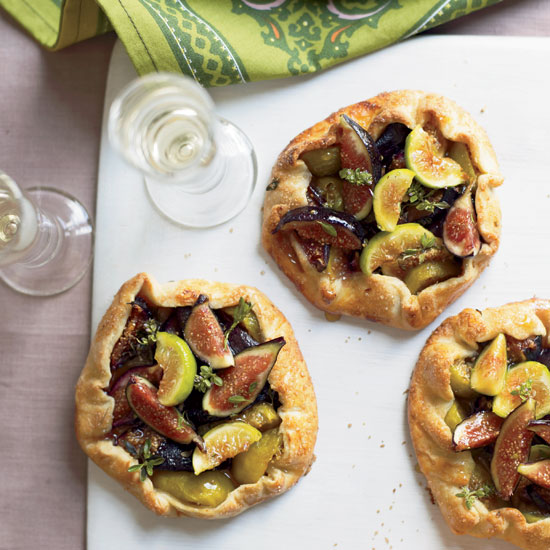 Honeyed Fig Crostatas
