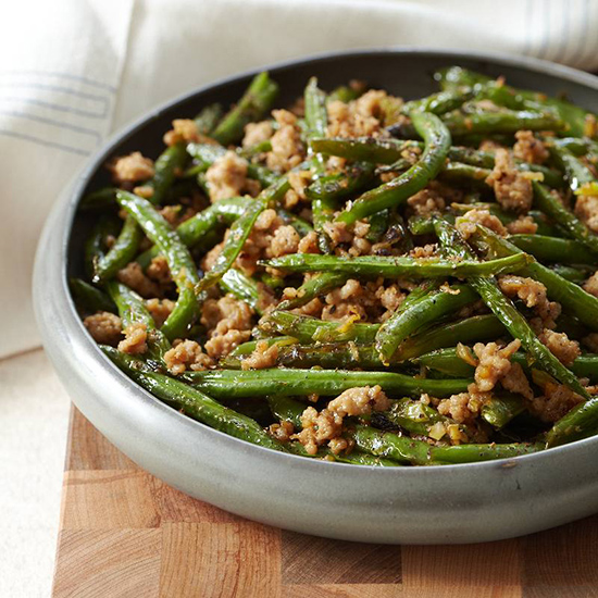 Szechuan Stir Fried String Beans