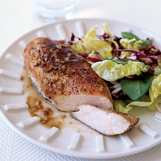 Sweet Spiced Chicken Breasts with Anisette