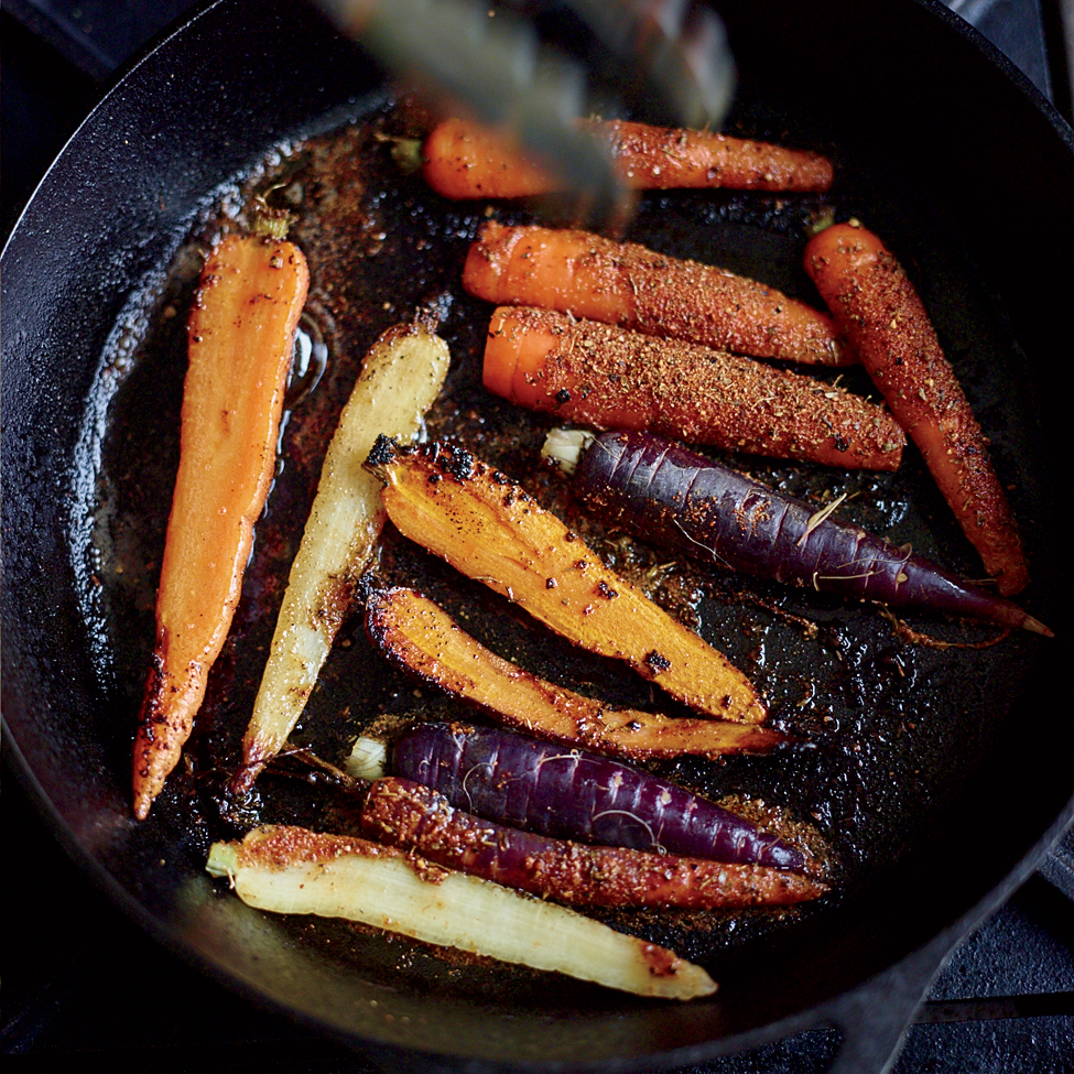 Blackened Carrots