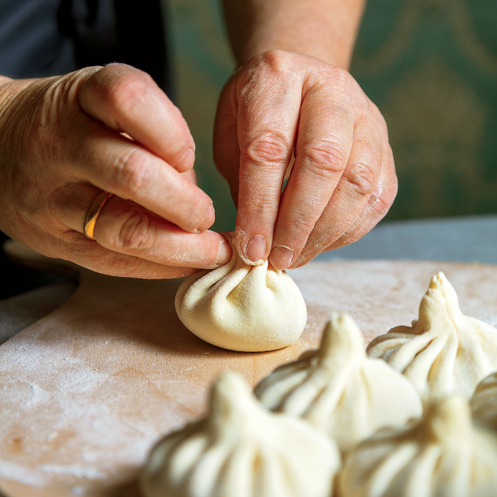 Khinkali (Meat-Filled Dumplings)