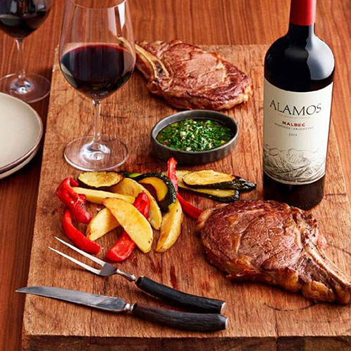 Dare to Pair With Alamos® Wines