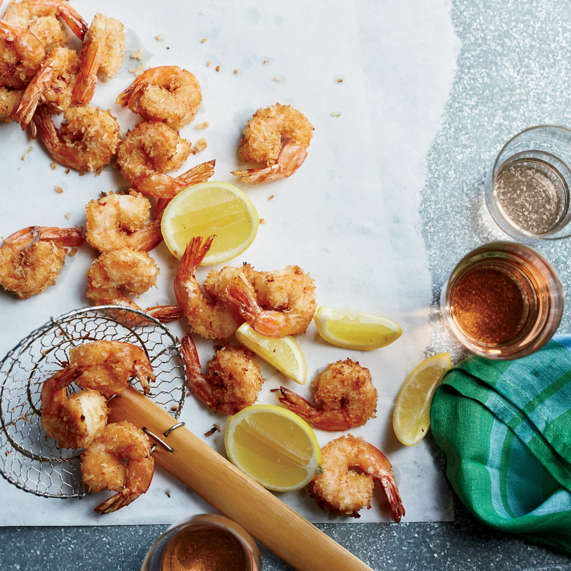 Spicy Coconut Shrimp