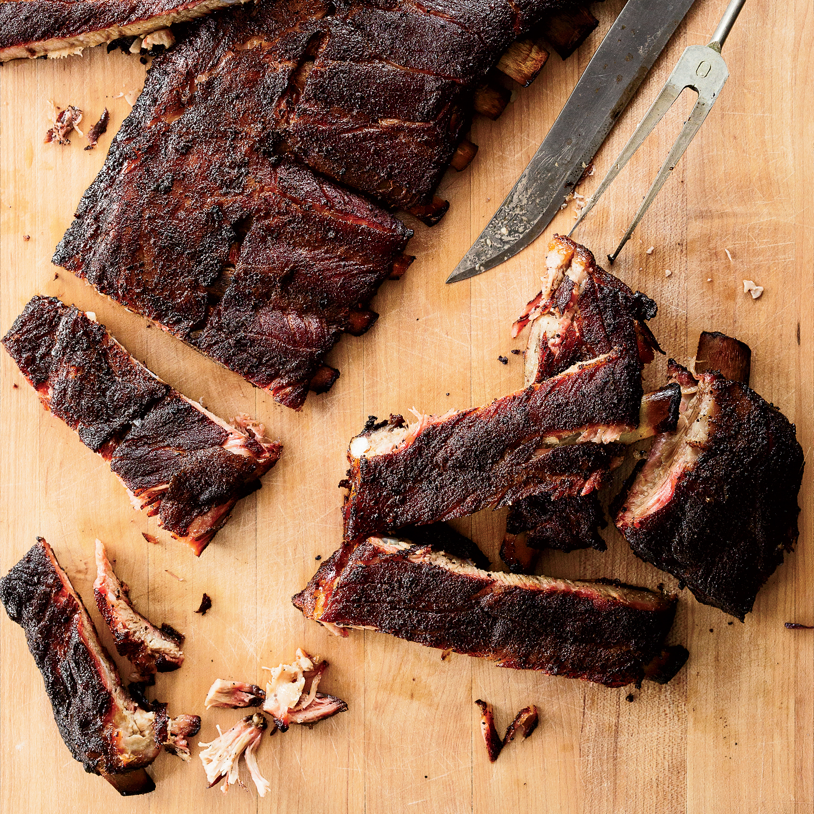 Smoked St. Louis-Style Ribs