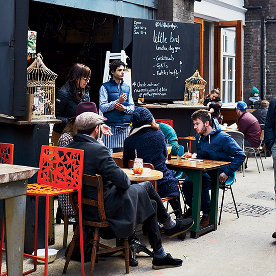Maltby Street Market; London