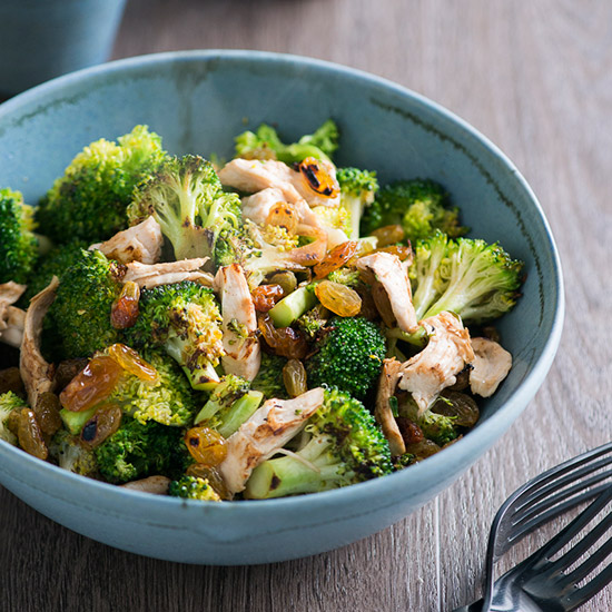 Healthy Chicken and Charred Broccoli Sauté