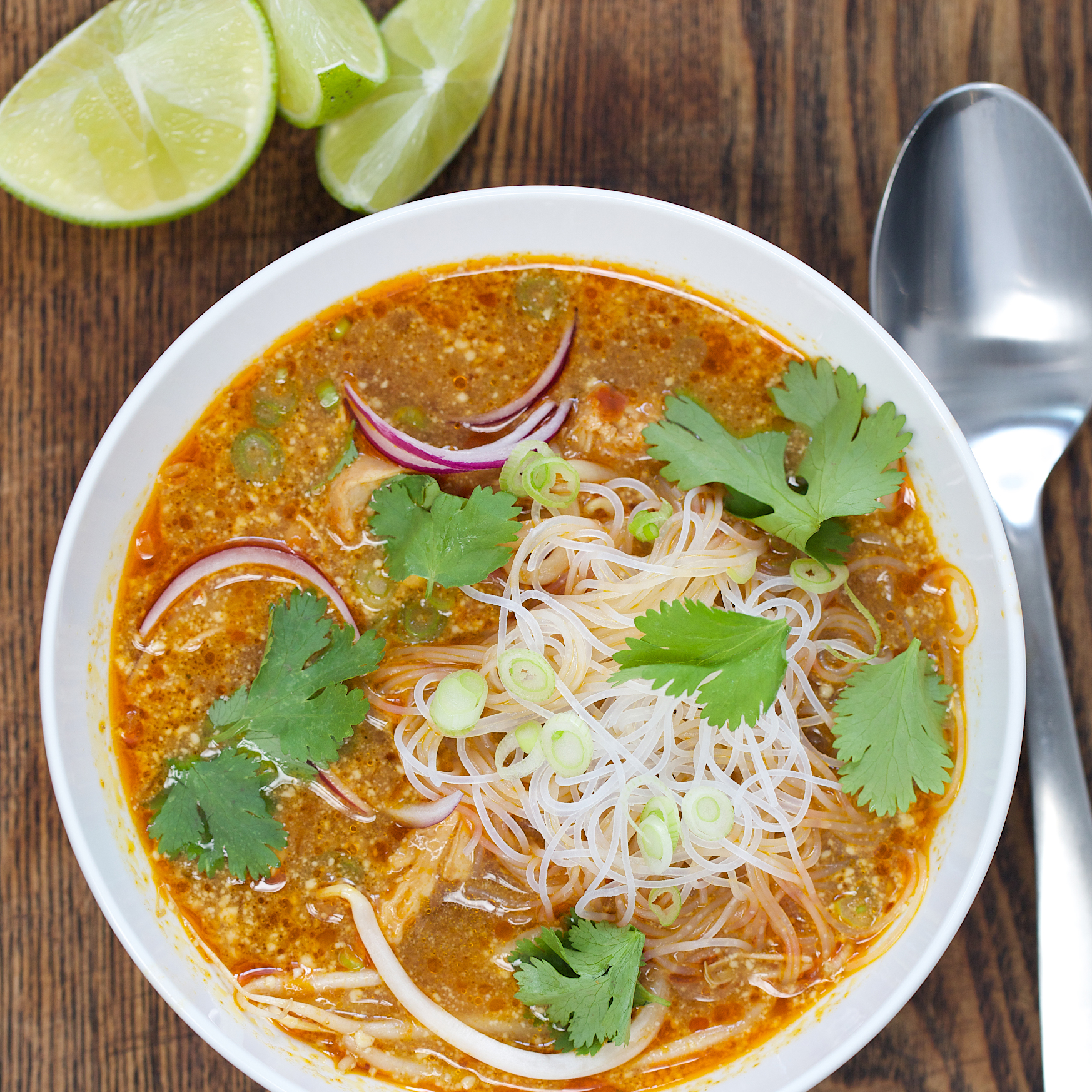 Golden Coconut Curry and Chicken Soup