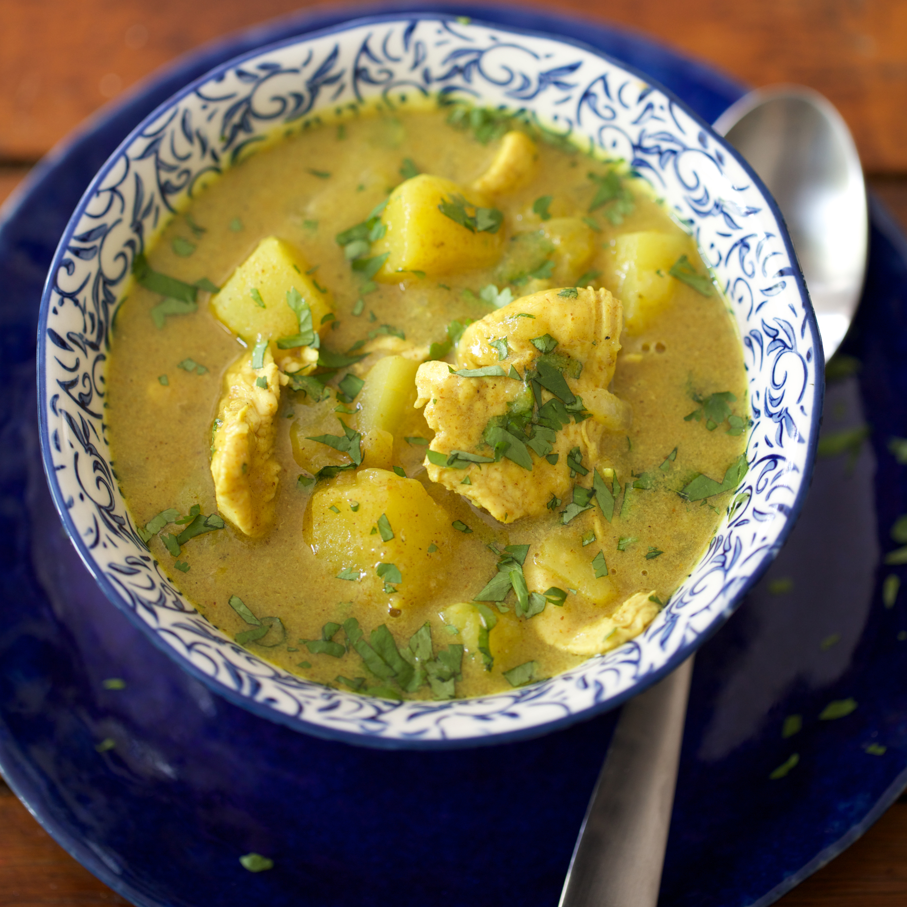 Jamaican Chicken and Potato Curry
