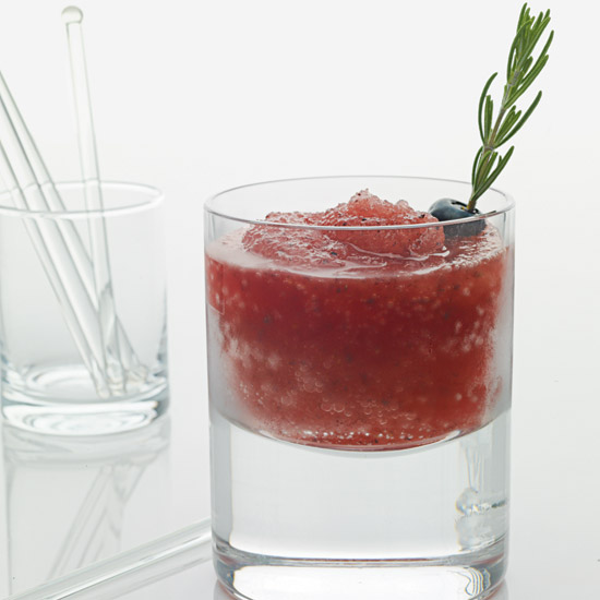Blueberry-Maple Caiprissimo