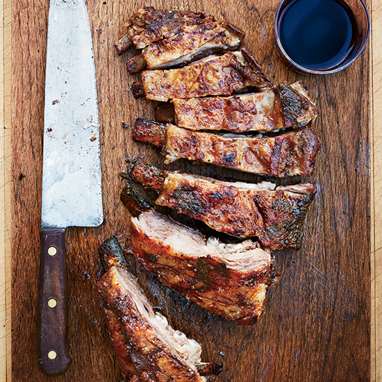 Cumin-and-Coriander Grilled Lamb Ribs