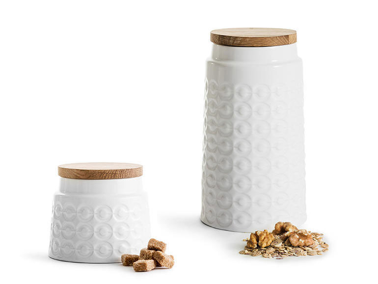 Nature Storage Stoneware Jar Set