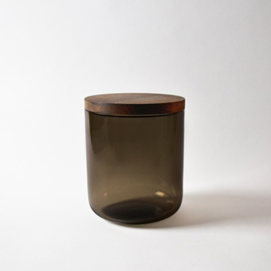 Vincent Van Duysen Smoked Glass Canisters