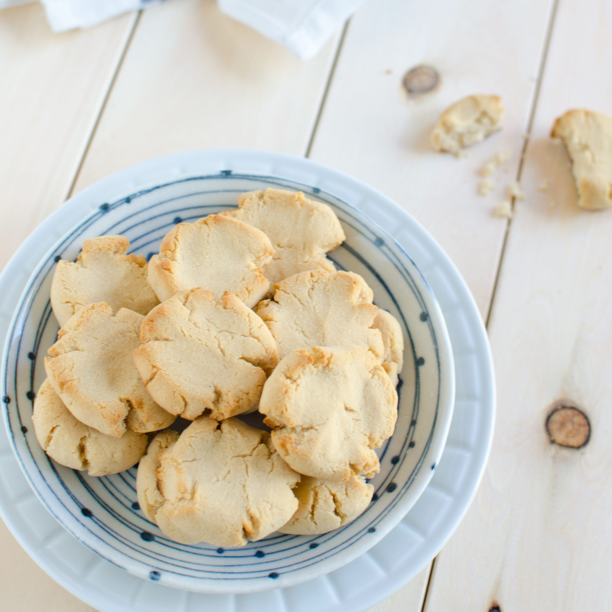 Coconut Flour Butter Cookies