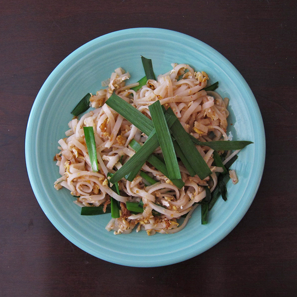 Pad Thai with Chinese Chives