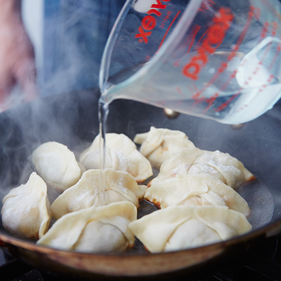 Step 9: Cook the Dumplings