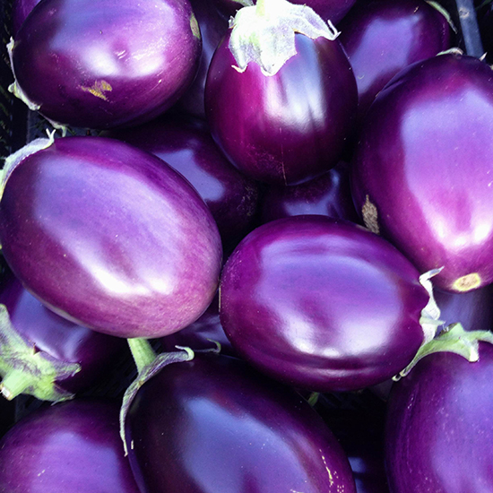 Gorgeous Eggplant Varieties: Thai Purple