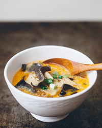 Hot, Sour and Sweet Soup with Coconut