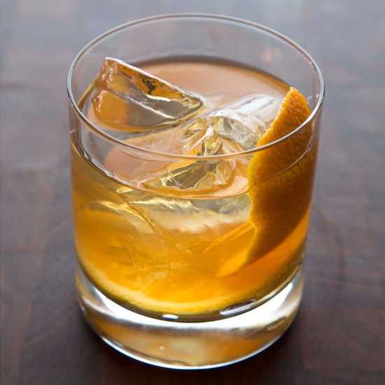 Maple-Bourbon Smash