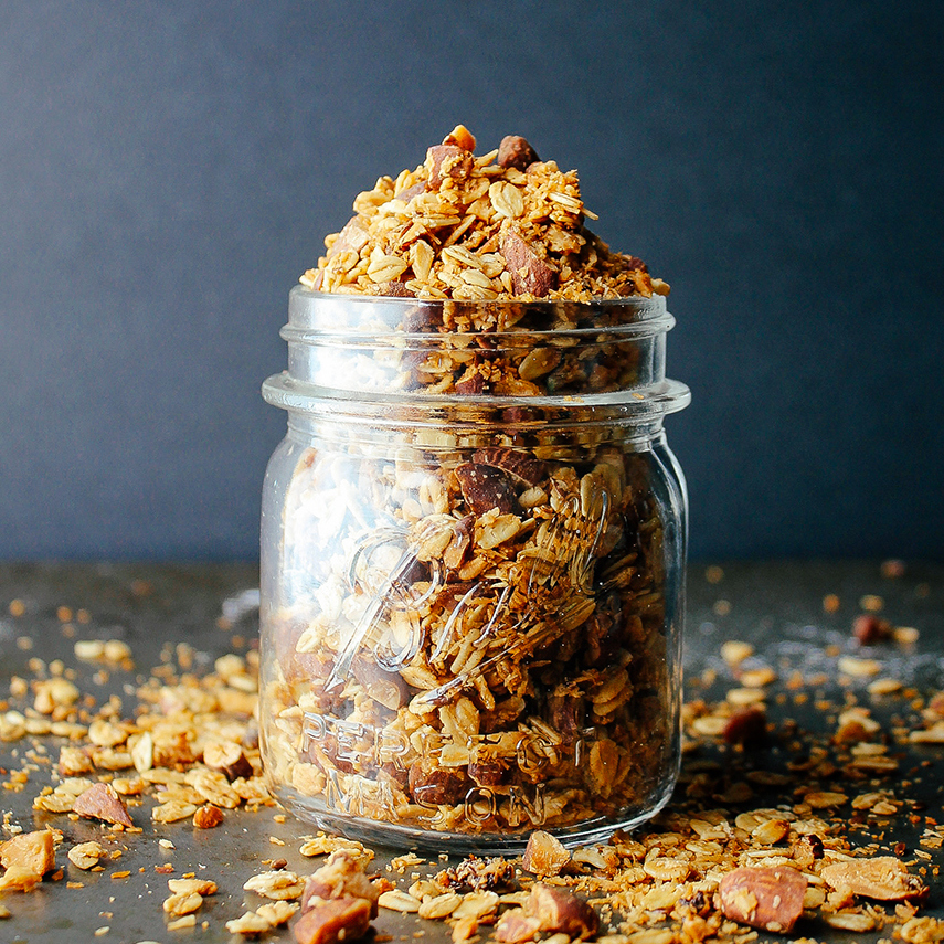 Vanilla Bean and Espresso Granola