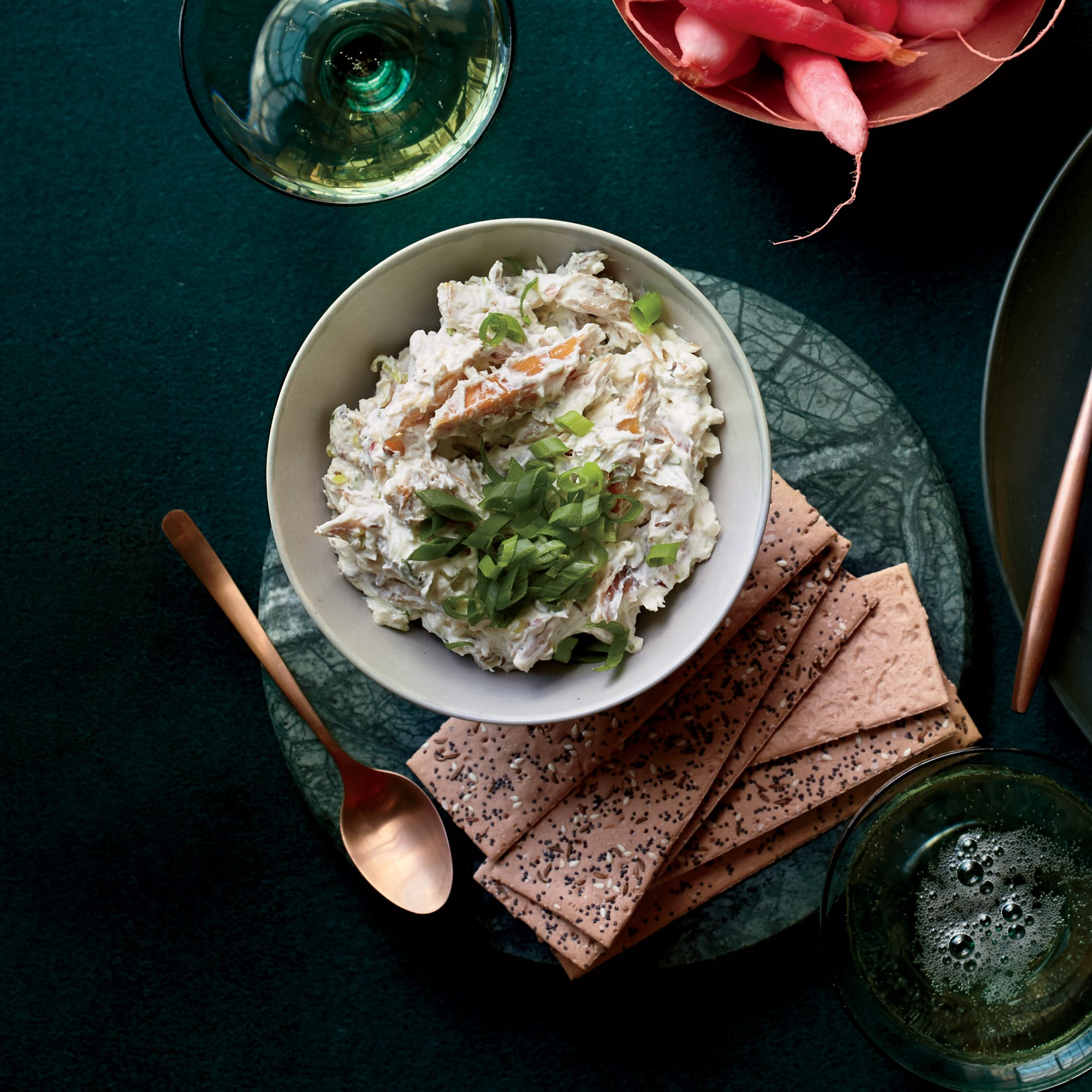 Smoked Trout–Caraway Rillettes