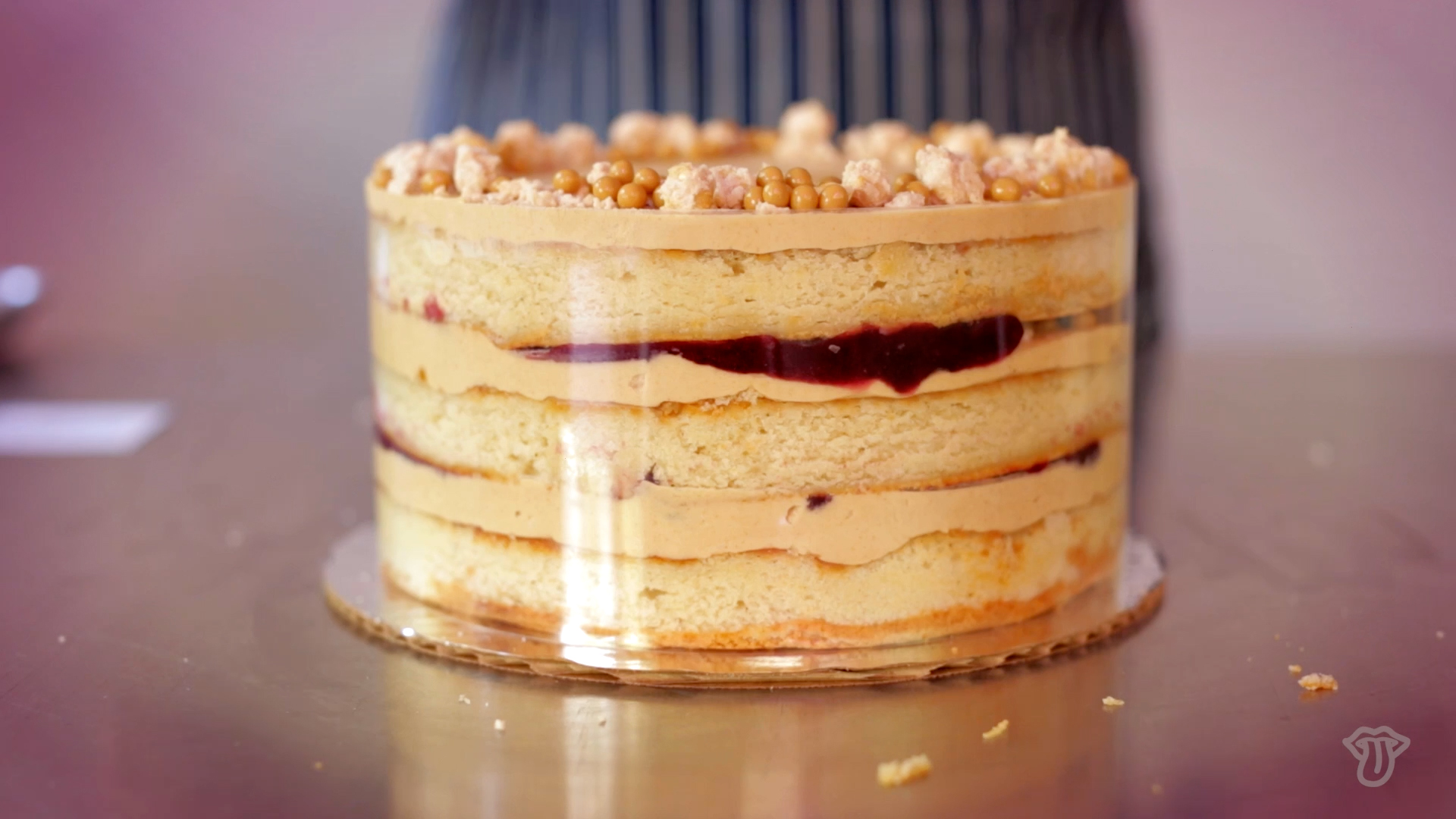 Video: The Ultimate PB&J Cake