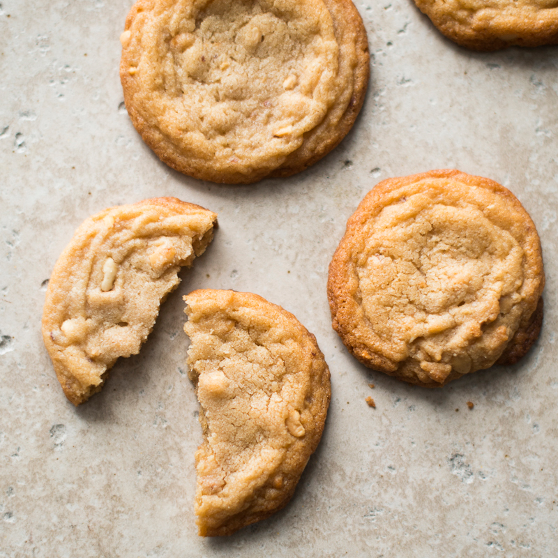Soft and Chunky Peanut Butter Cookies