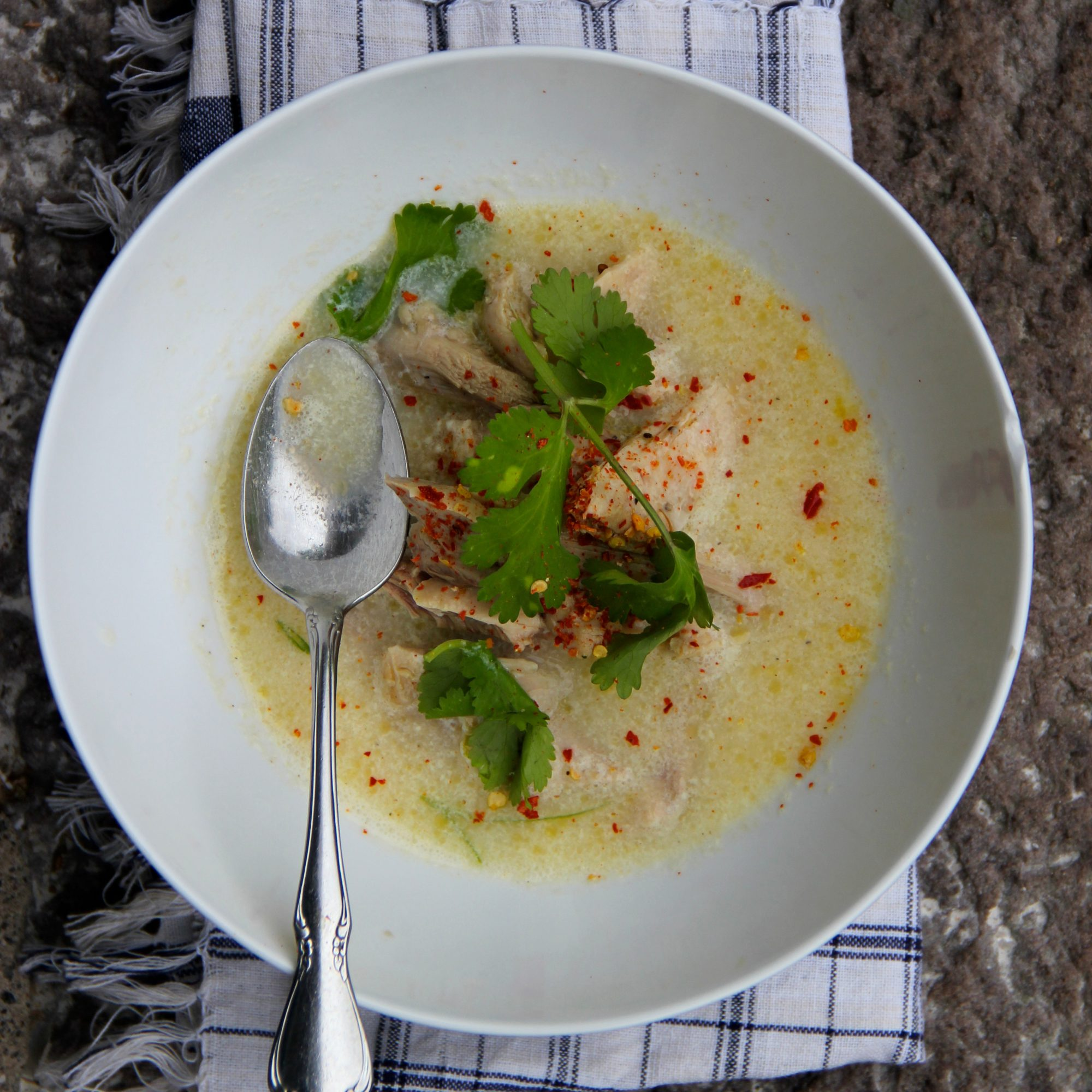 Turkey and Egg Drop Soup