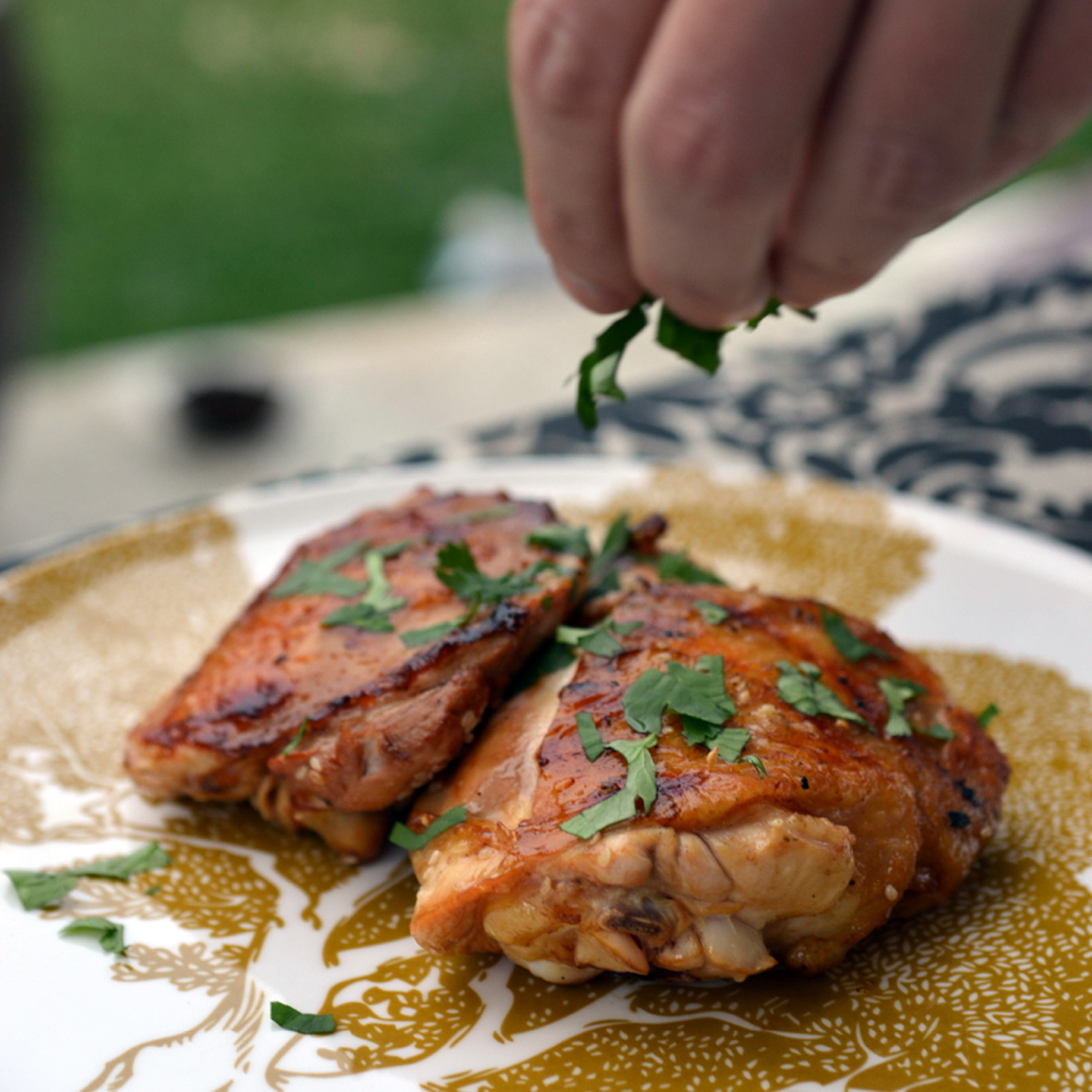 Sherry–Soy Sauce Chicken