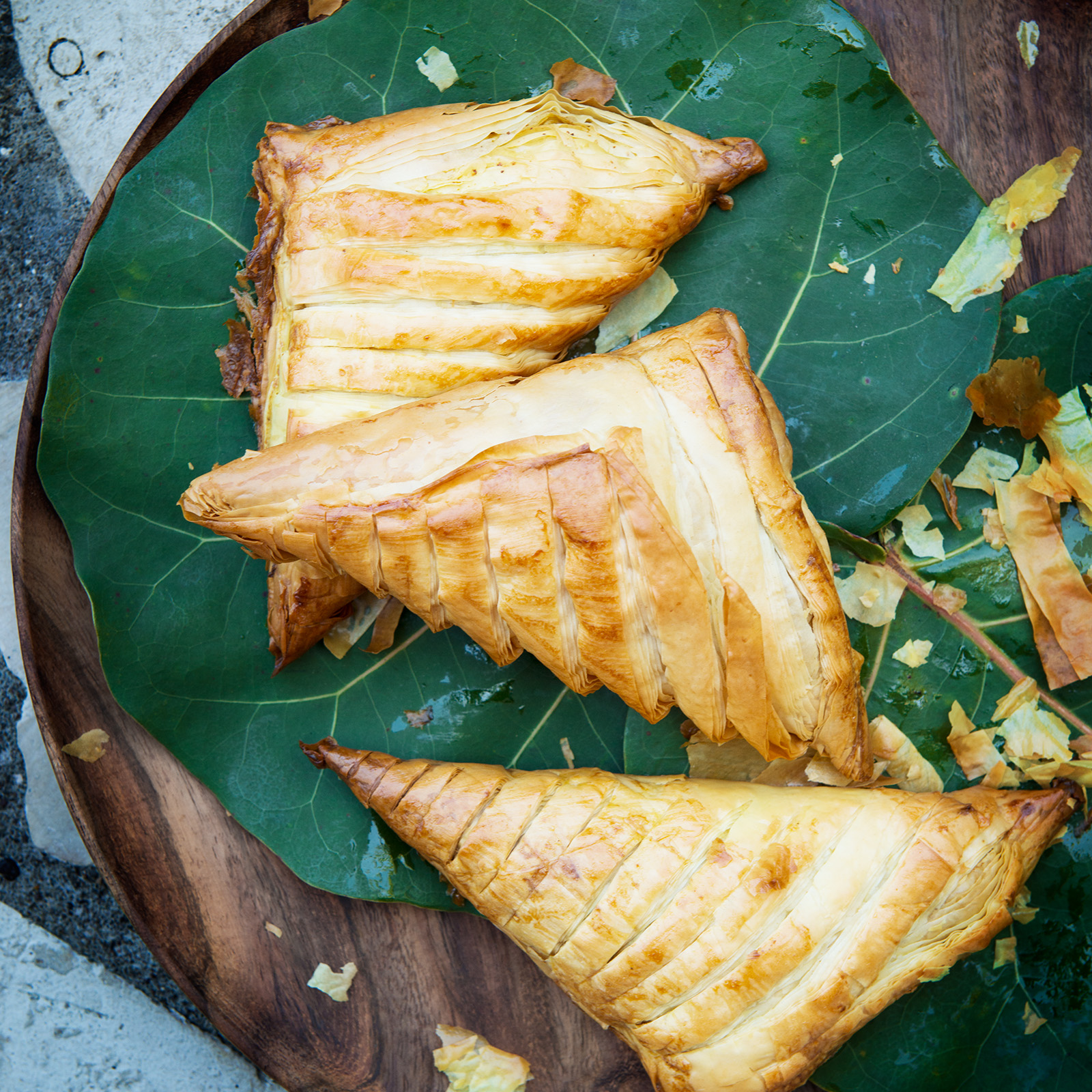 Jamaican Greens-Stuffed Patties