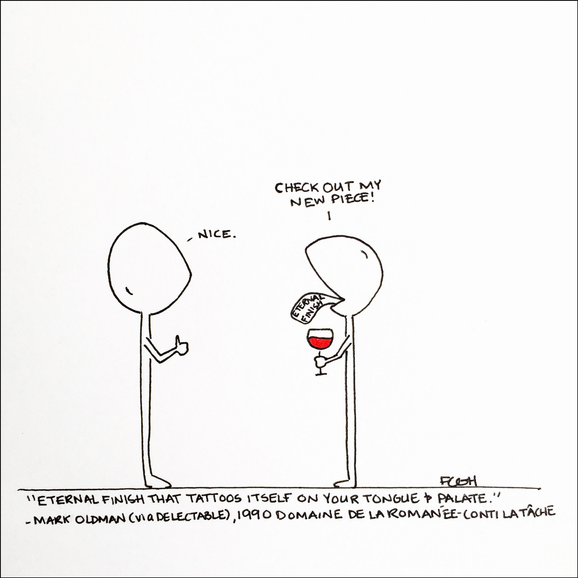 3 Comics that Illustrate the Taste of Pinot Noir
