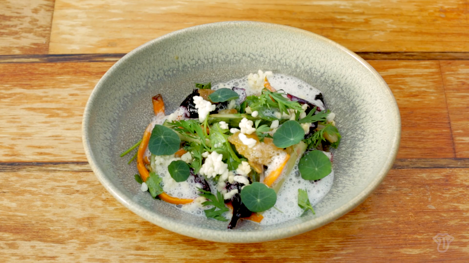Video: Top Chef Alum Gregory Gourdet's Incredible Grapefruit and Asian Pear Salad