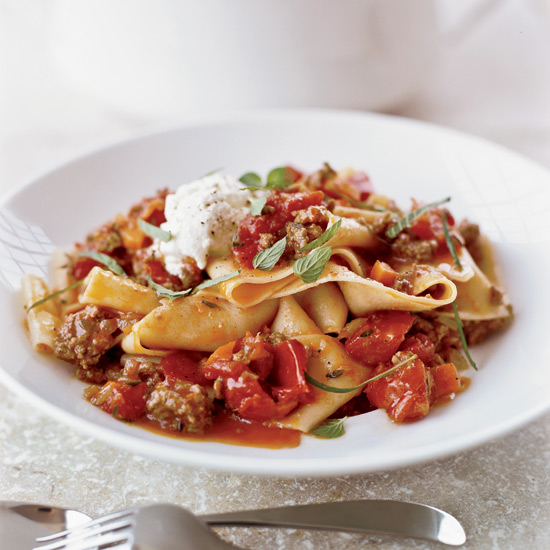 Pappardelle with Lamb Ragù