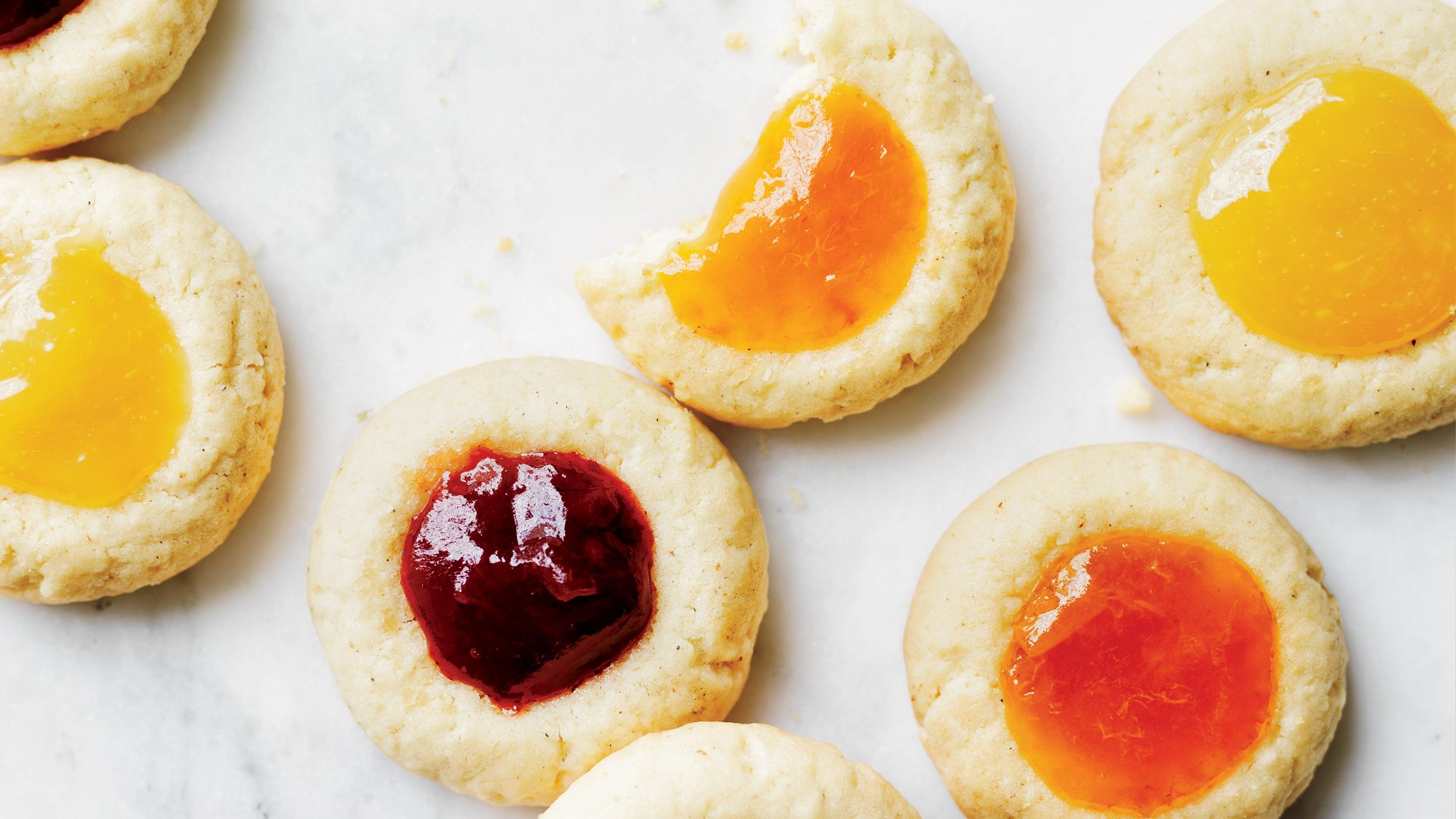 Cardamom Thumbprints Cookies