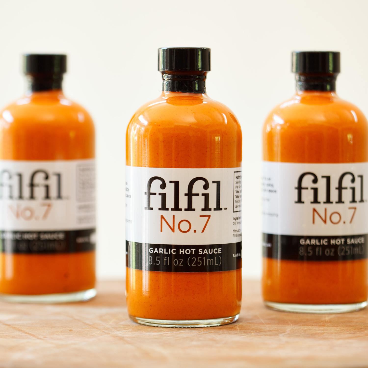 Filfil™ No.7 Garlic Hot Sauce
