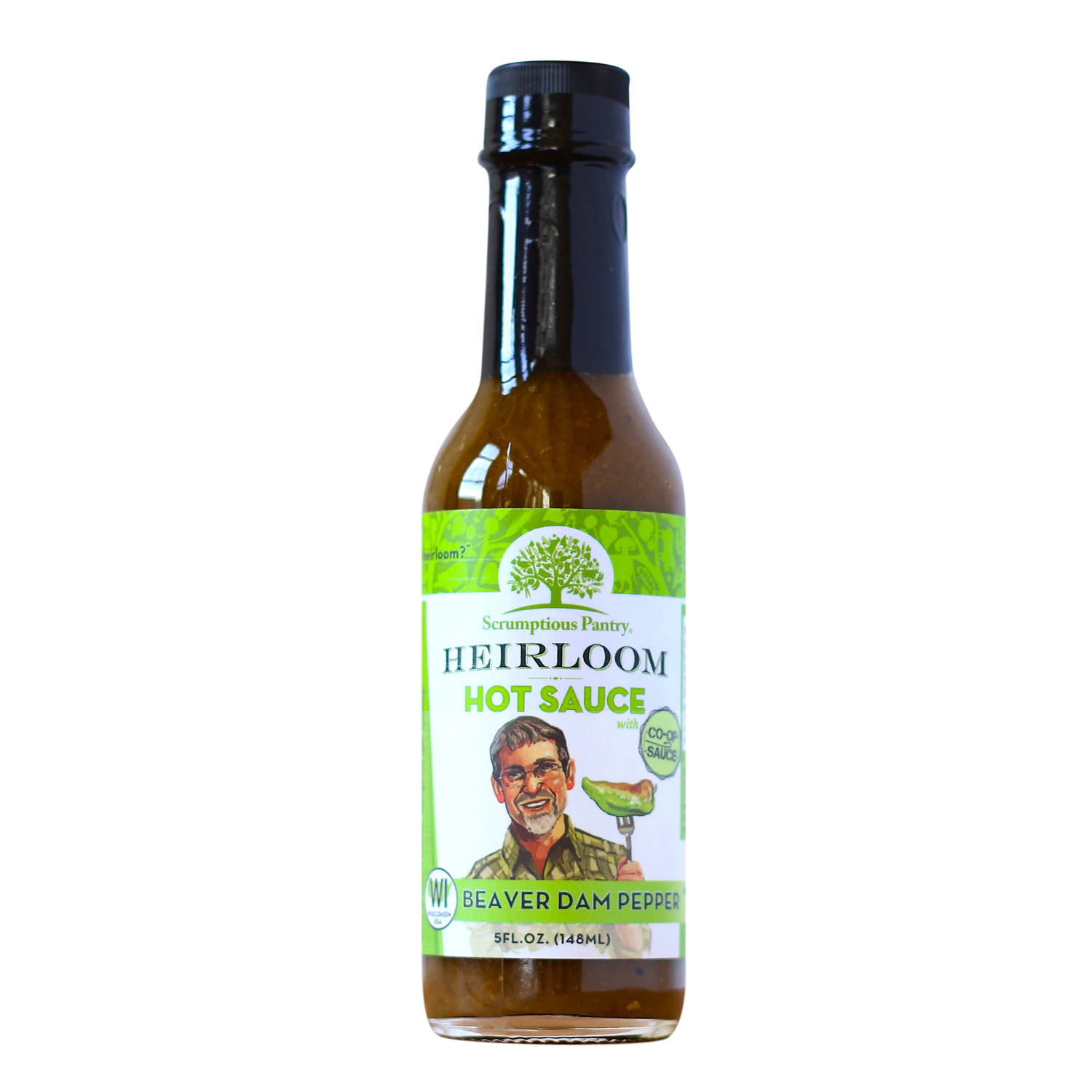 Scrumptious Pantry Heirloom Hot Sauce Beaver Dam Pepper