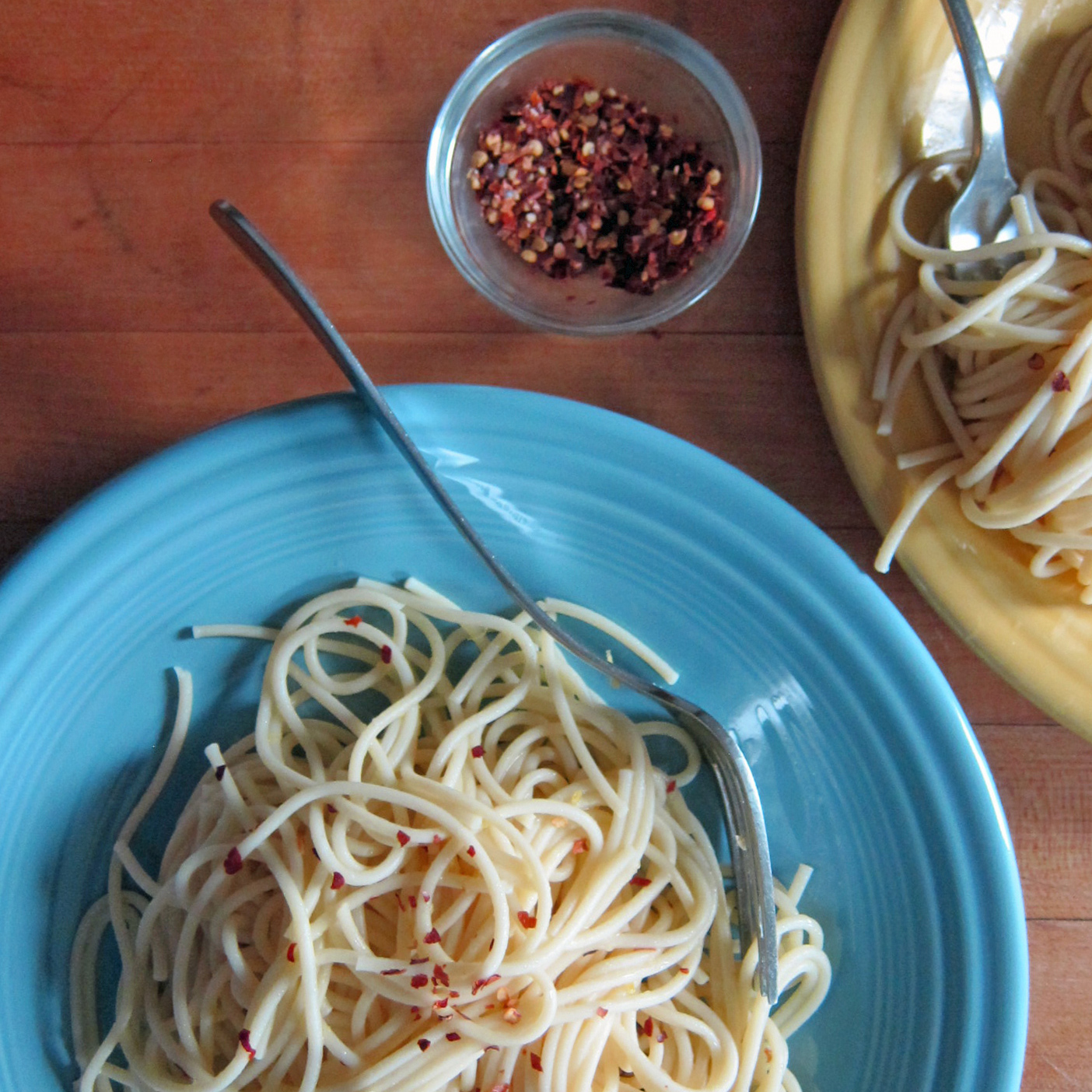 Spaghetti with Lemon & Butter