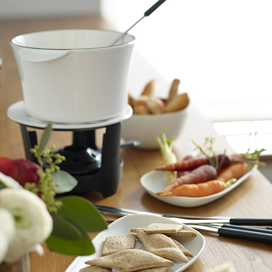 Whiskey-Cheese Fondue