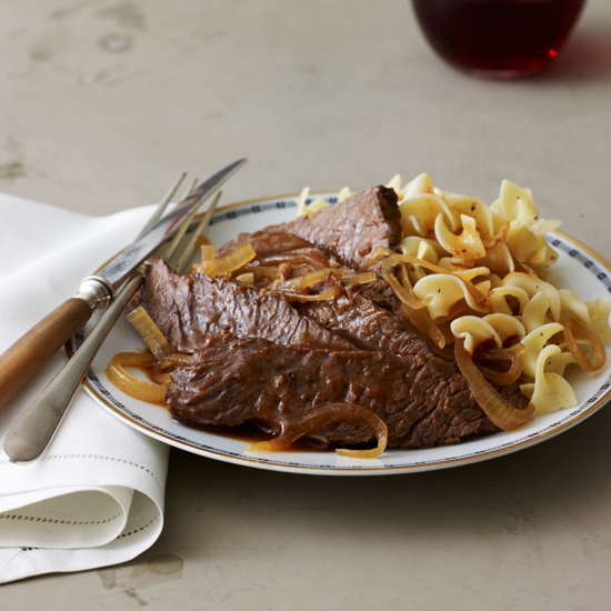Slow Cooker Sweet-and-Sour Brisket