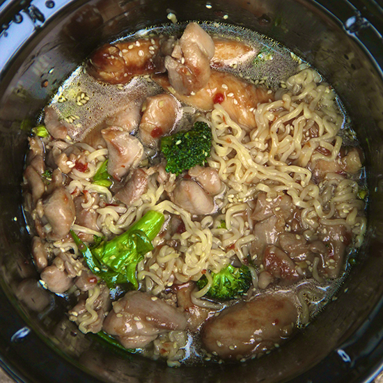 Slow Cooker Asian Chicken Soup