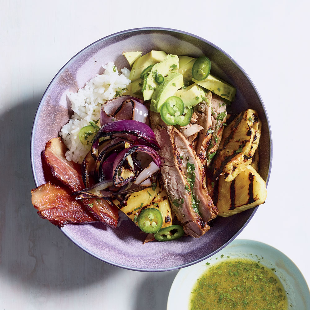 Hawaiian Pork Bowl