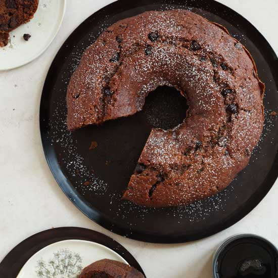 Applesauce-Chocolate Chip Bundt Cake