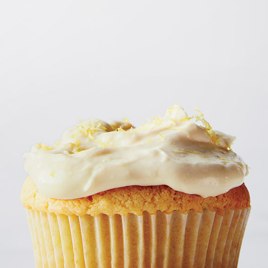 Lemon-Ricotta Cupcakes with Fluffy Lemon Frosting