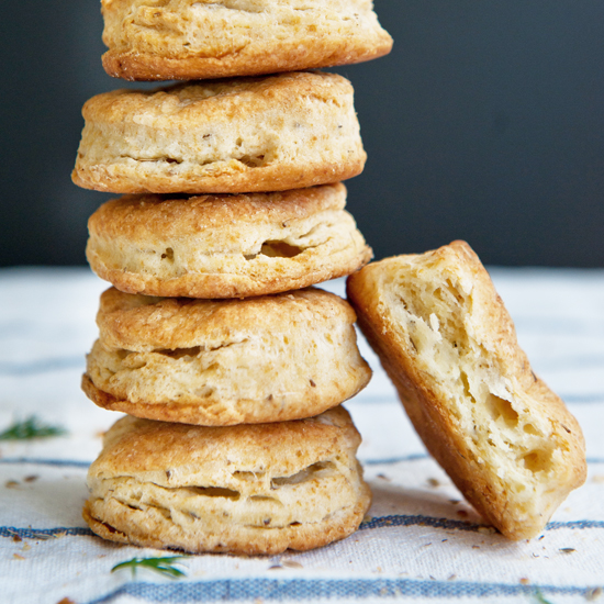 Dill-Seed Biscuits