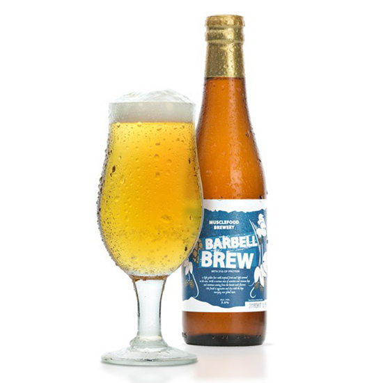 Barbell Brew Muscle Beer