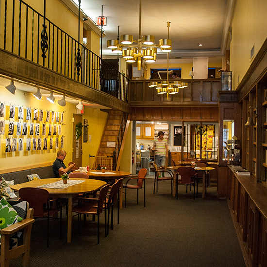 Quirky Coffee Shops: Church of Sweden