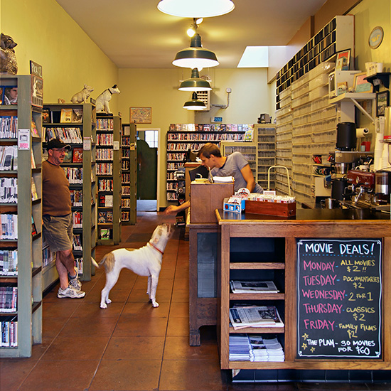 Quirky Coffee Shops: Fayes Video