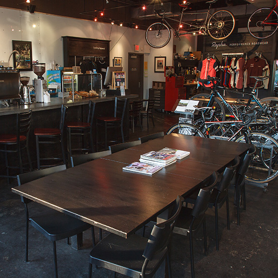 Quirky Coffee Shops: Ride Studio Cafe